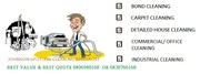 Cheap professional bond cleaning,  domestic,  commercial/office cleaning